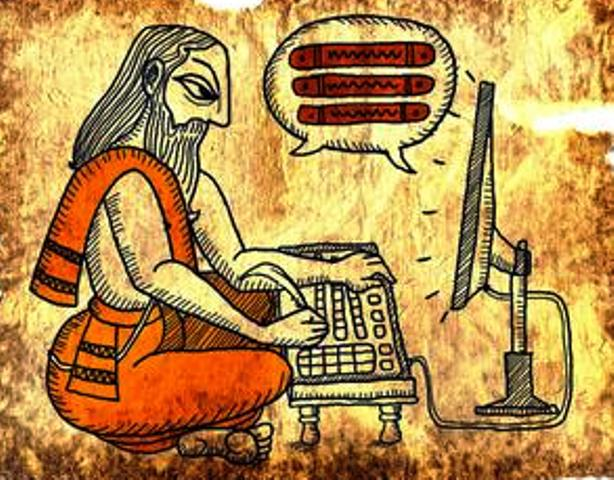 Sanskrit in computer technology
