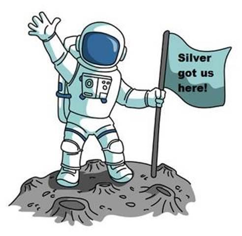 Silver NASA