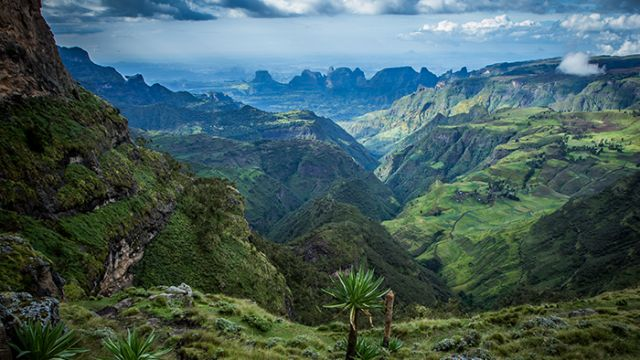 Simien Mountain, Africa