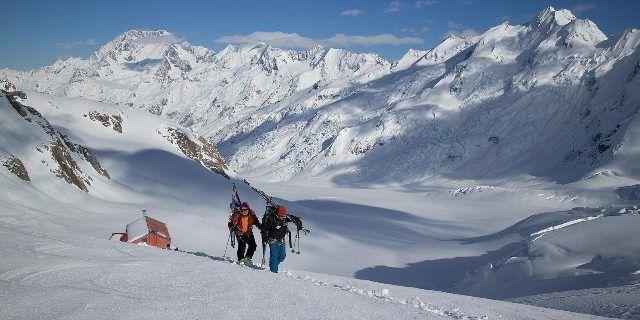 Tasman Glacier, Southern Alps, New Zealand