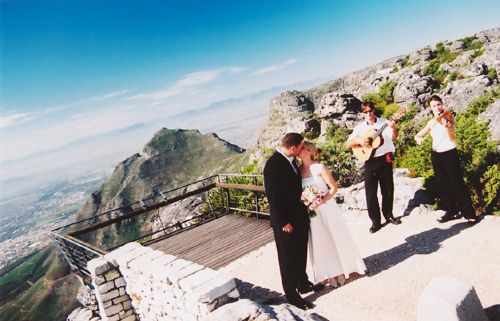 Wedding on Table Mountain