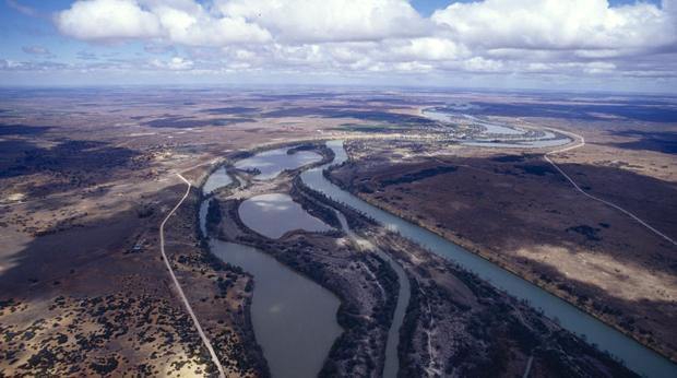 Murray Darling Aerial View