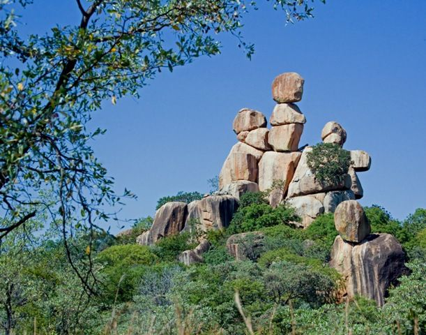 Balancing Rocks in Zimbabwe