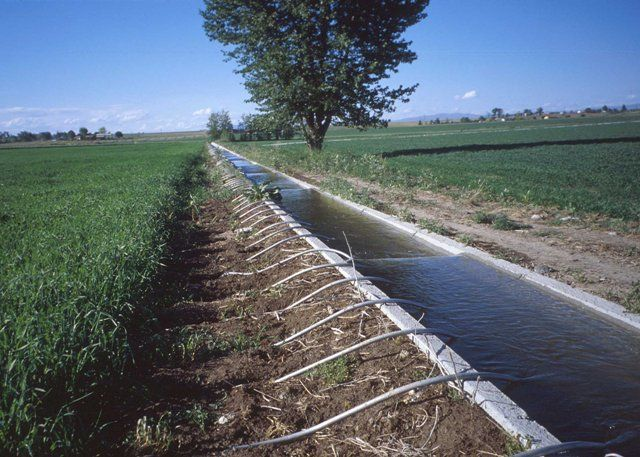 Canal based irrigation