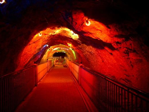 Interior of Khewra Salt Mine
