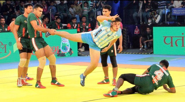 Kabaddi Players