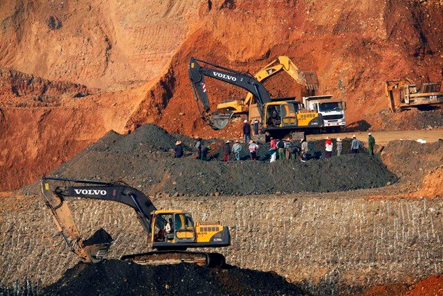 Copper mining in Myanmar under Process