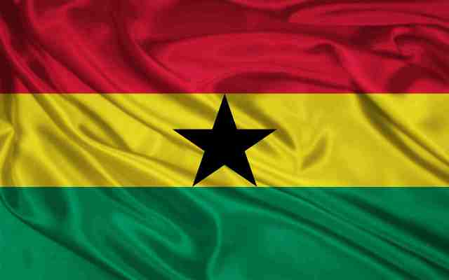 National Flag Of Ghana