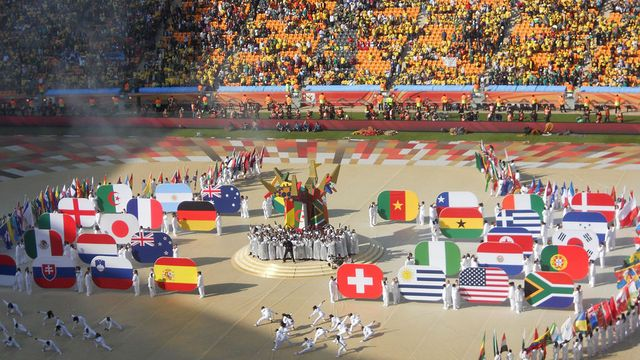 Opening Ceremony of 2010 Soccer World Cup