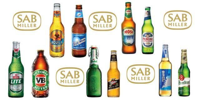 Sabmiller Beers
