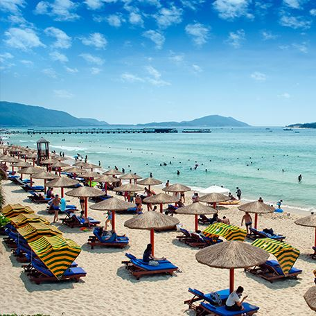 Sea Beach in Taipa, Macau
