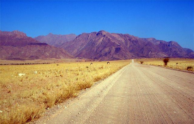 Brandberg Mountains Namibia