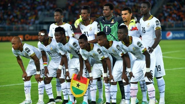 Ghana National Football Team February 2015