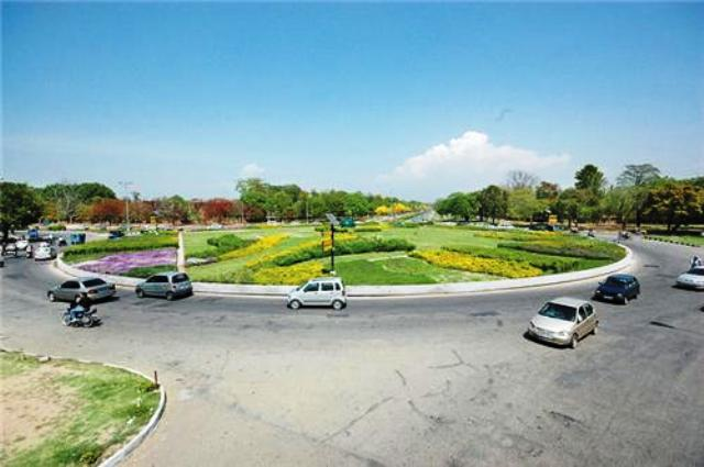 Chandigarh roundabouts