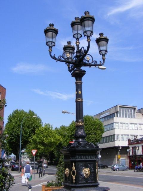 Five Lamps in Dublin