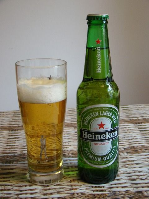 Heineken Beer, made in Holland, Netherlands