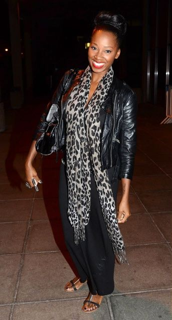 Jamelia outside the RTE Studios for The Late Late Show Dublin, Ireland
