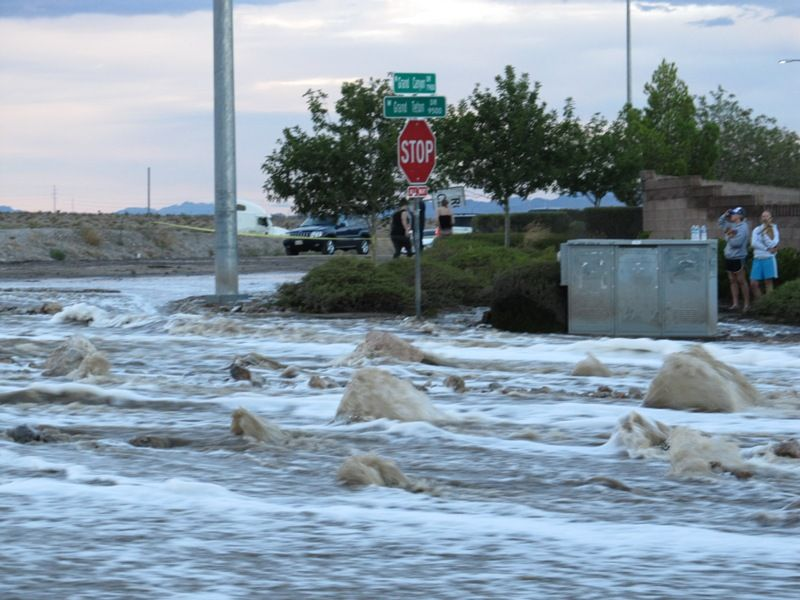 Las Vegas Torrential Flash Floods