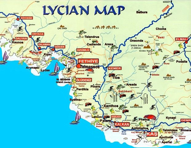 Lycian Map