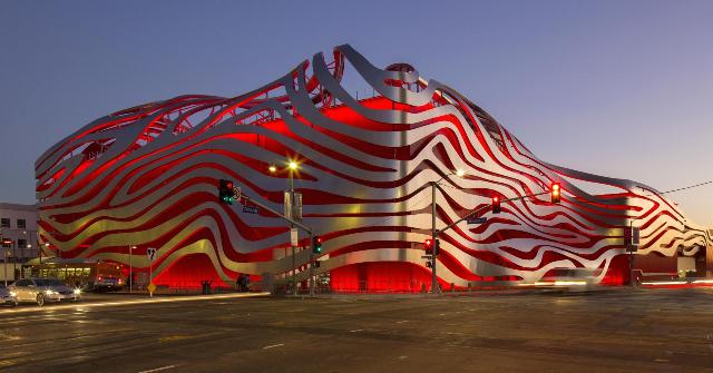 Petersen Automotive Museum Building
