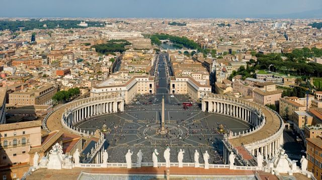 St. Peter Square, Vetican City