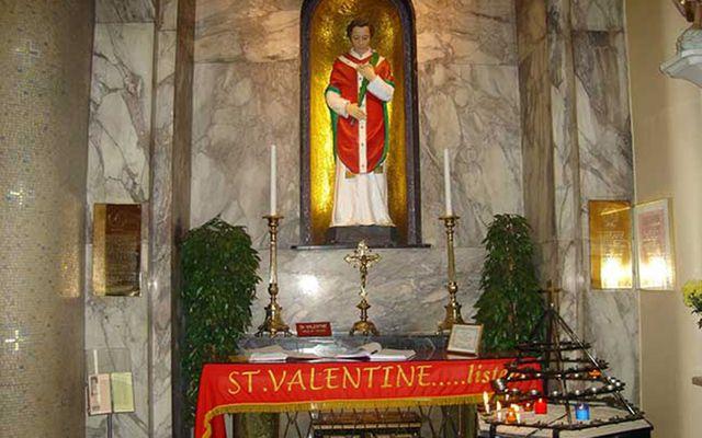 St. Valentine Statue