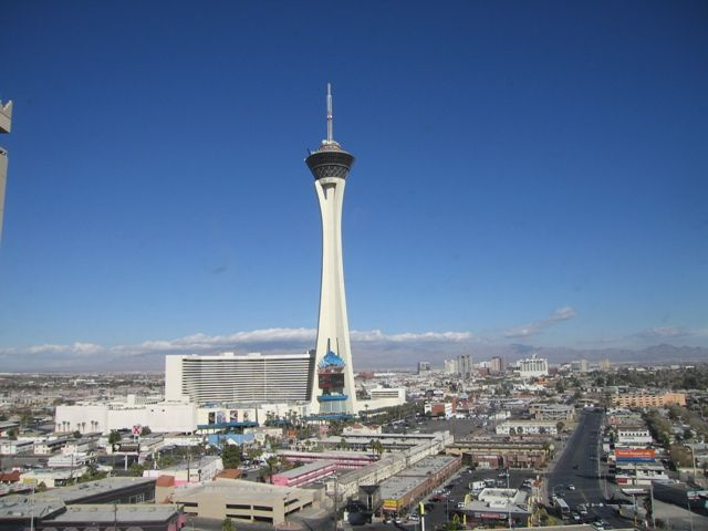 Stratosphere Las Vegas Tallest in US