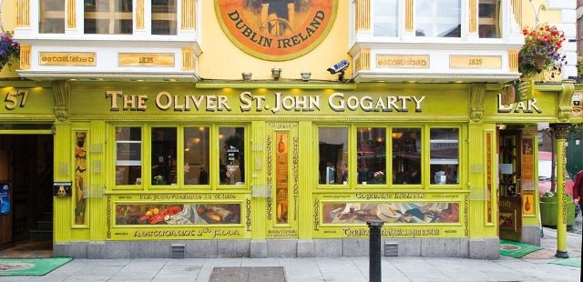 The Oliver St John Gogarty Pub