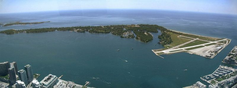 Toronto Islands Panorama