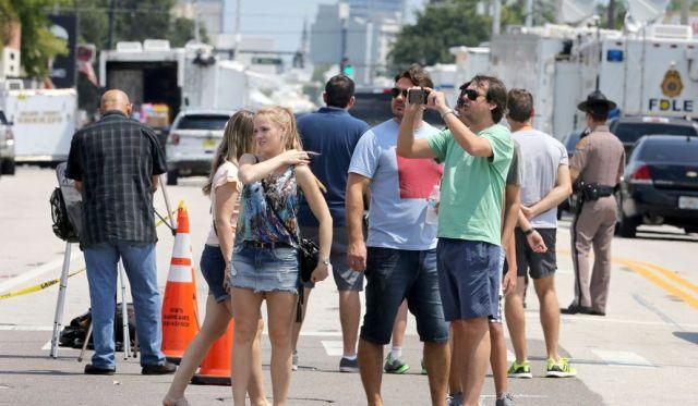 Tourists in Orlando