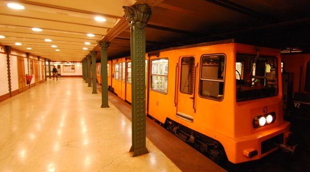Underground Budapest Metro Subway