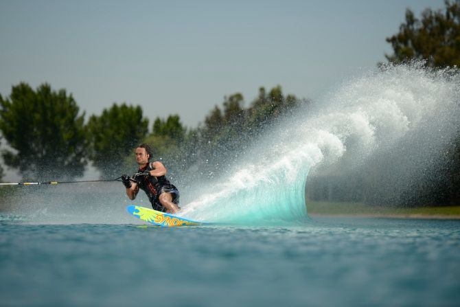 Water Sport in Lake Ivanhoe, Orlando