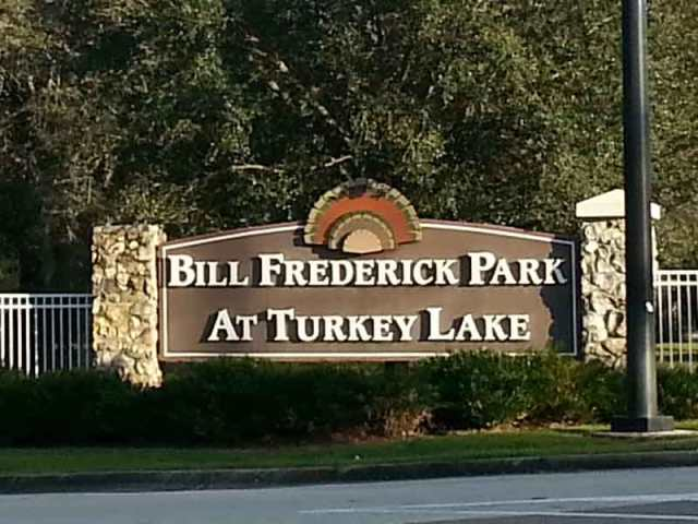 Bill Frederick Park at Turkey Lake Orlando Florida