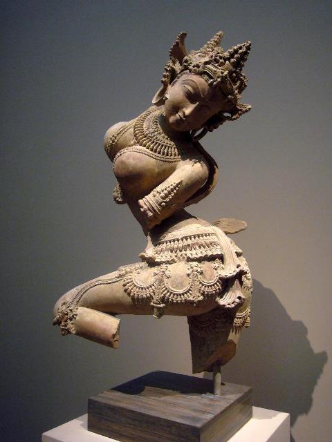 Dancing Celestial Deity in Museum
