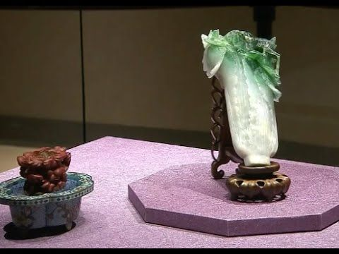 Southern Branch of Taipei Palace Museum Displays Jadeite Cabbage