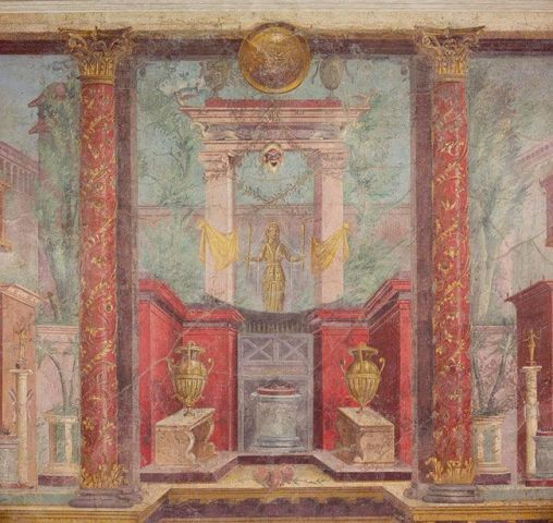Paintings of the tomb of Boscoreale Frescoes