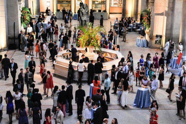 People in Metropolitan Museum of Art