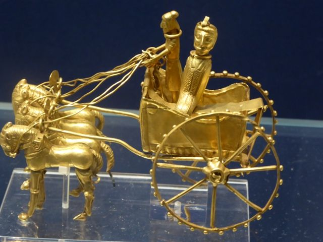 Small Oxus Treasure Chariot