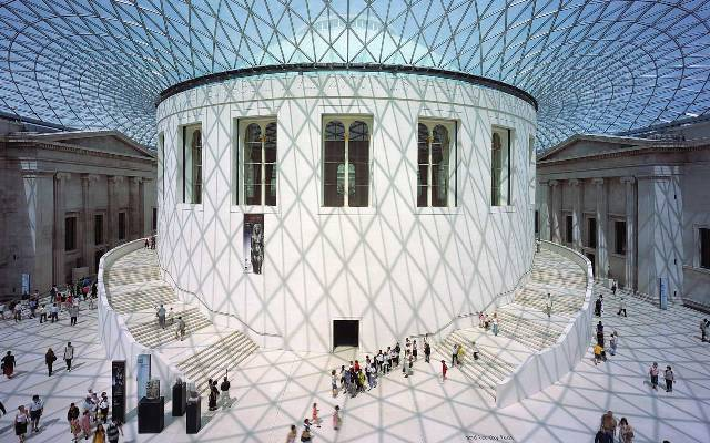 Interior of the British Museum