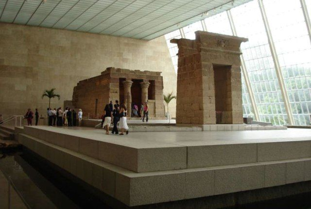 The Temple of Dendur at The Metropolitan Museum of Art