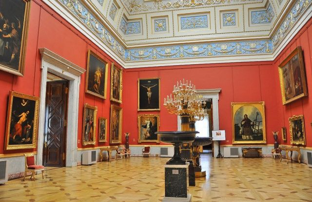 Art Gallery in Hermitage Museum