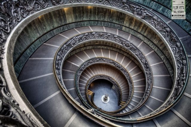 Bramante Staircase, Vatican Museum