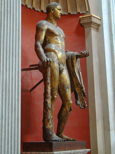 Bronze Statue of Hercules