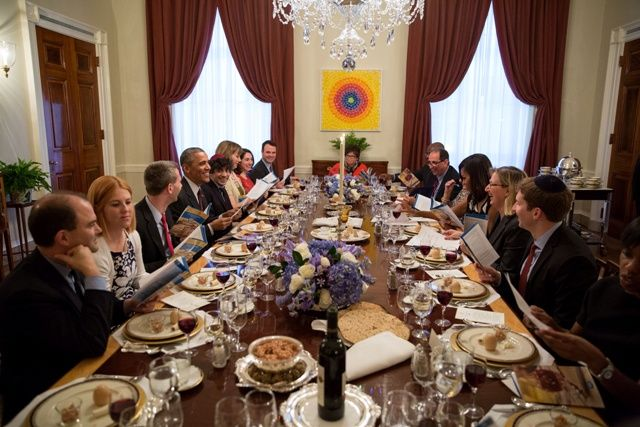 Dinner in White House