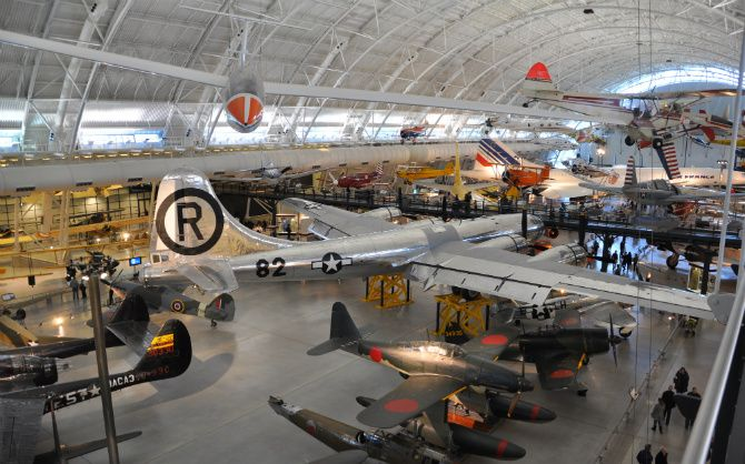 Gallery in National Air and Space Museum