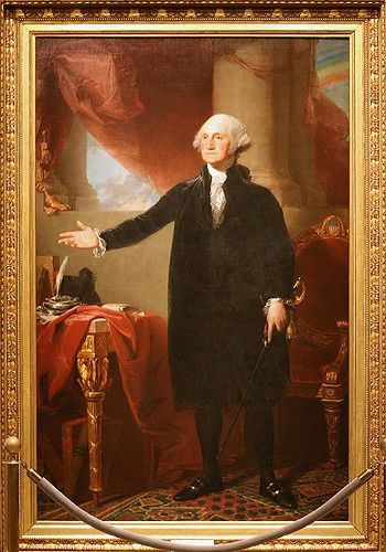 George Washington portrait in White House
