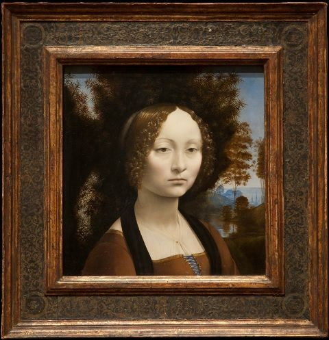 Ginevra de'Benci, Painting of Leonardo da Vinci
