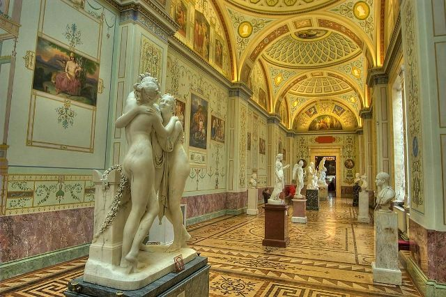 Sculptures Gallery, Hermitage Museum