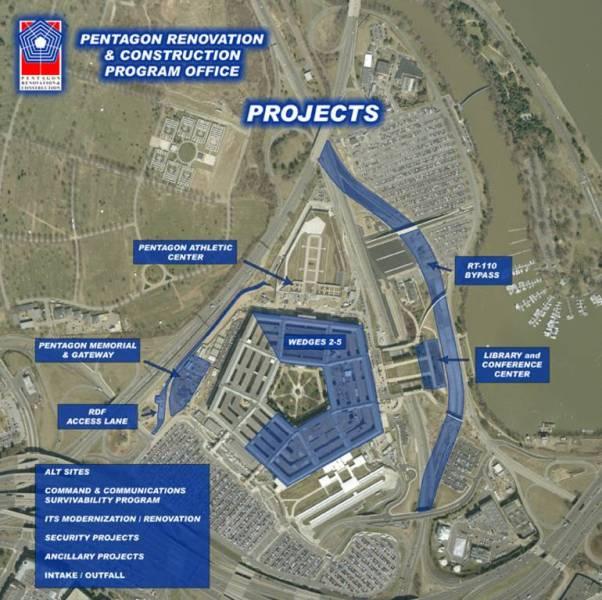 Pentagon Map