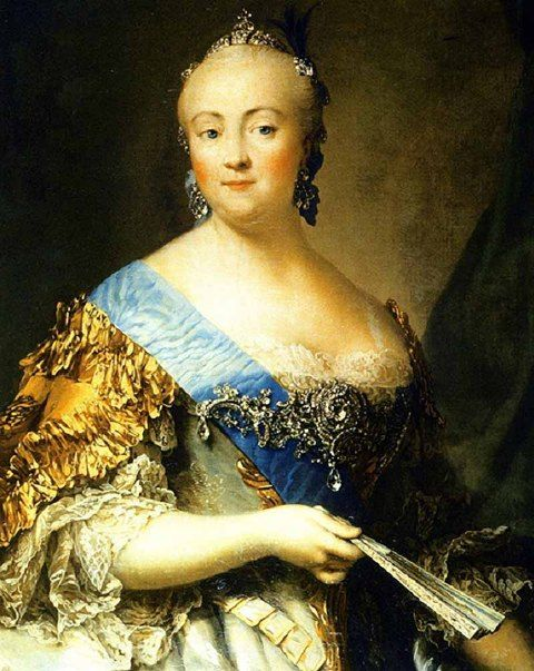 Portrait of Empress Elizabeth